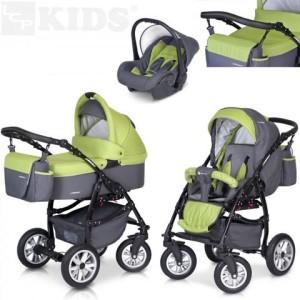Bester Kinderwagen 3 in 1 Kombi Kinderwagen PASSO