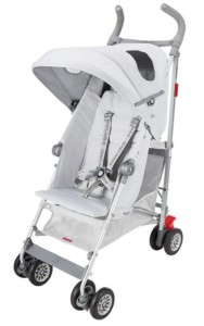 Maclaren Kinderwagen - BMW Buggy in Top Silver Design