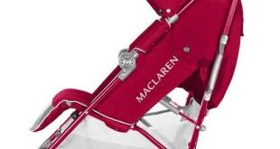 Maclaren Kinderwagen Techno XT Buggy rot
