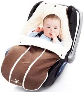 Fusssack Kinderwagen - Wallaboo Fußsack Super Verloursleder und Teddyplusch, für neugeborenen bis 1 Jahre - im Vergleich