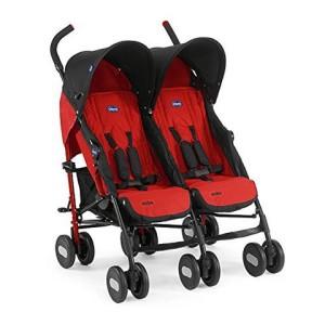 Geschwisterkinderwagen - Chicco Geschwistersportwagen Echo Twin