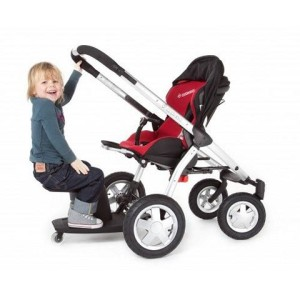 Geschwisterkinderwagen - Kleine Dreumes Mitfahrsitz - Buggyboard