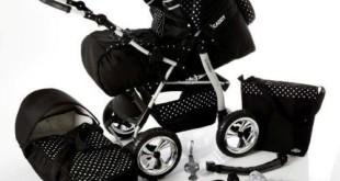Kinderwagen guenstig - Chilly Kids iCaddy Kombi Wagen mit viel Zubehör