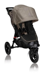 Kinderwagen zum Joggen - Baby Jogger - City Elite Single - Sand im Test