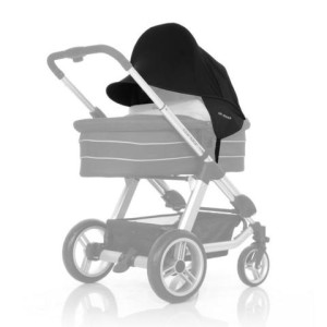 Sonnensegel Kinderwagen - ABC-Design 2016 Universal Sonnensegel black