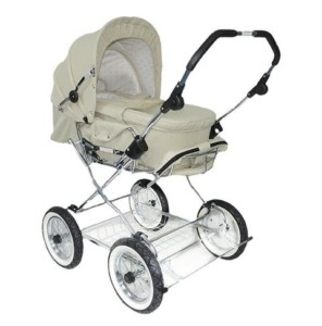 Kinderwagen kaufen - Wunderschöner Eichhorn Retro mit Luftreifen
