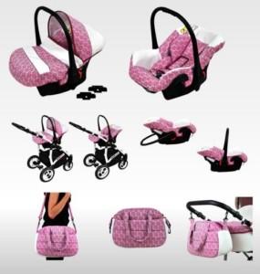 Kinderwagen kaufen - Lux4Kids mit viel Zubehör im Komplettset